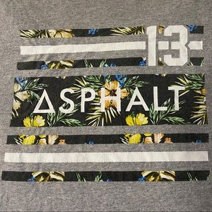 Asphalt Yacht Club Island Stripes T-Shirt